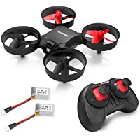 Drone, Metakoo M1 Mini Drone 2.4GHz 6-Axis Double Battery Beginners Kids Drone 360°Full Protection, Altitude Hold, 3D Flips, Headless Mode, 3 Speed Modes Functions