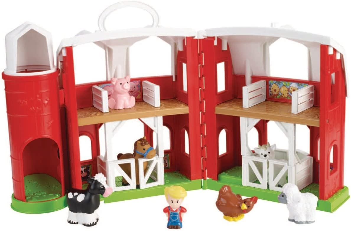 Fisher Price Little People Animal Friends Farm Amazon Co Uk Toys Games