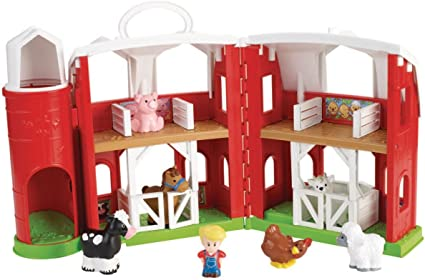 Amazon Com Fisher Price Little People Animal Friends Farm Toys Games