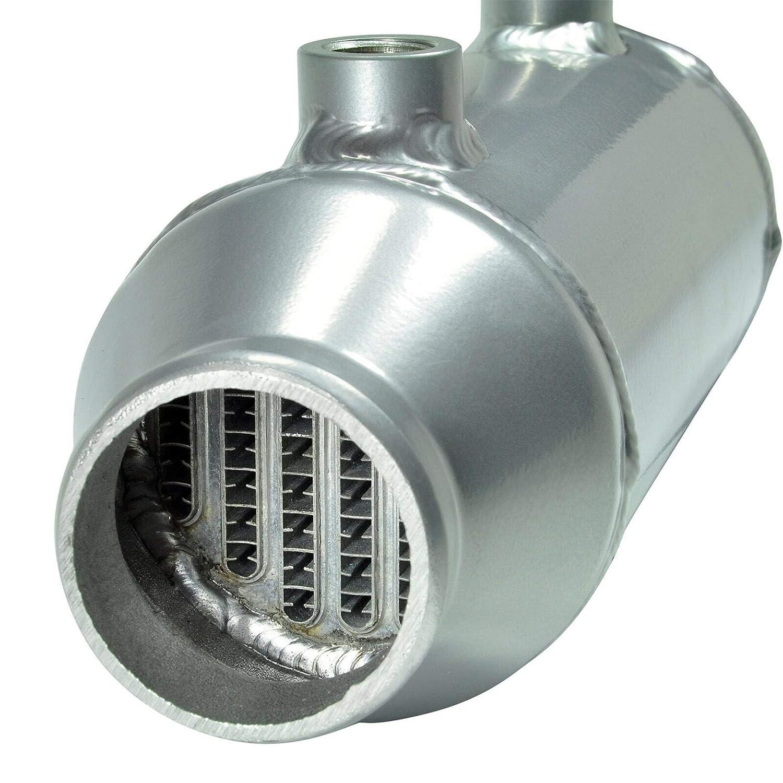 dpPerformance 340 mm x 100 mm Rotondo Radiatore di Ricarica raffreddato ad Acqua in Alluminio