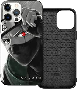 AFOK Naruto Anime Comic Theme Case Protective Shockproof Scratchproof Case for iPhone 12 Mini, 12/12 Pro, 12 Pro Max (Naruto iPhone 12)