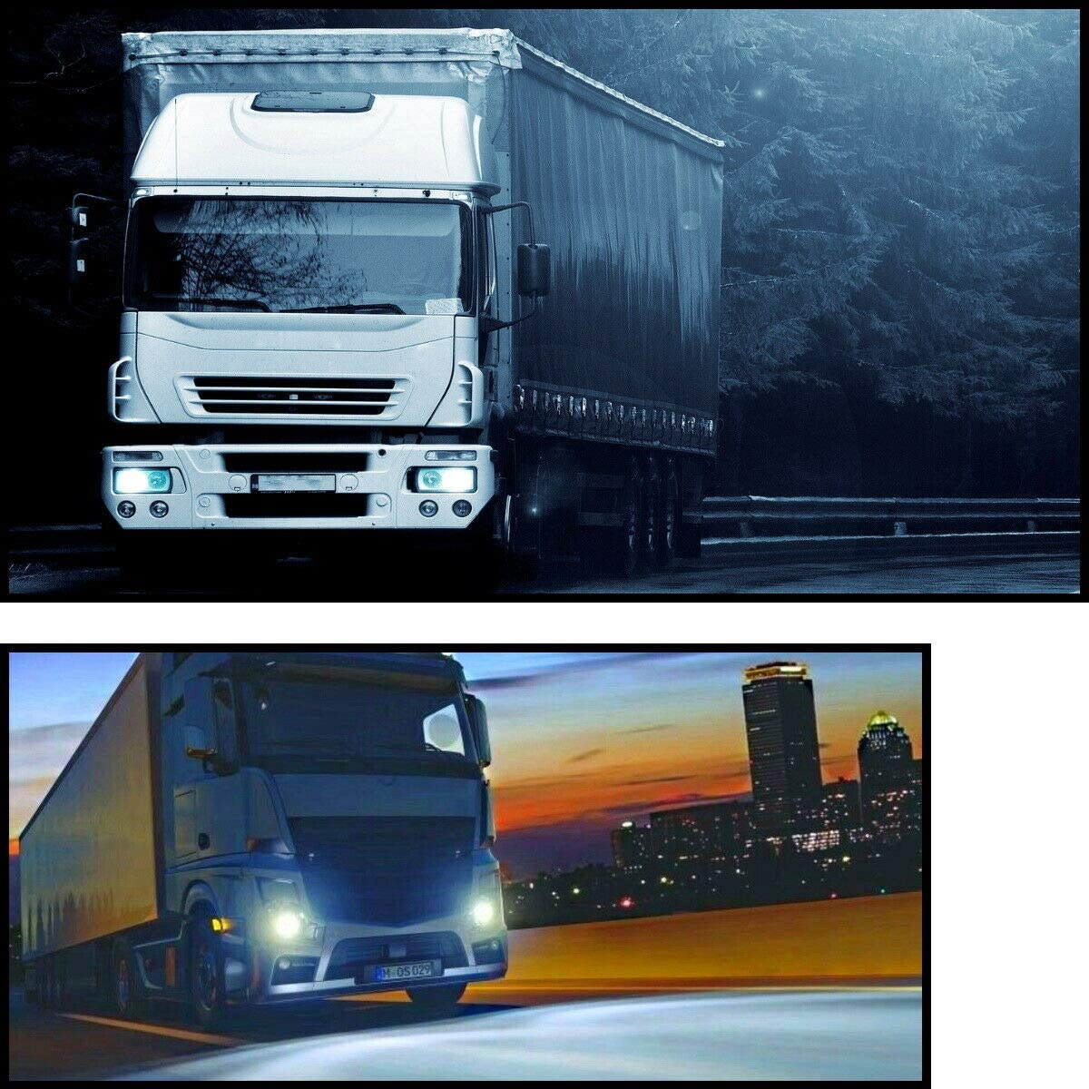 2x H7 24v 100w 6000k Px26d Nfz Lkw Bus Halogen Lampen Xenon Effekt Super White 100 Watt Jurmann Original Auto