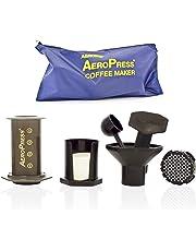 AeroPress 82R08 Coffee Maker with Tote Bag - Black