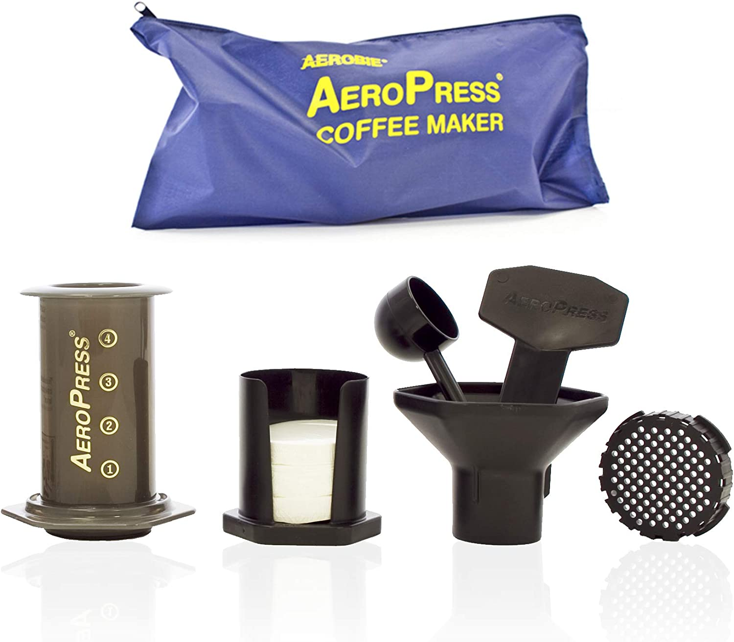 AeroPress 82R08 Coffee Maker with Tote image 1