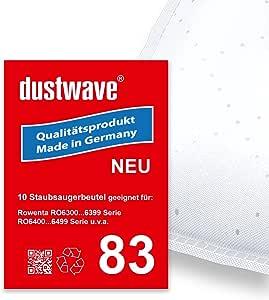 Pack de ahorro – 10 bolsas para aspiradoras Rowenta – ro 6852 X-Treme Power – Aspiradora – dustwave® Marca Bolsa para el polvo – Fabricado en Alemania + Incluye Micro de filtro: Amazon.es: Hogar