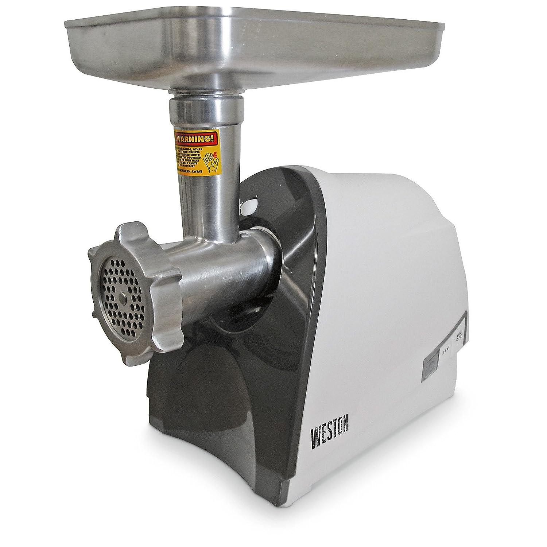 Weston 575 Watt Electric Heavy Duty Grinder, Silver
