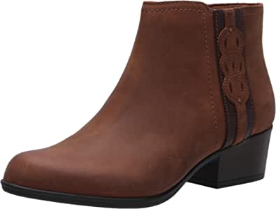 Clarks Women's Adreena Lilac Ankle Boot