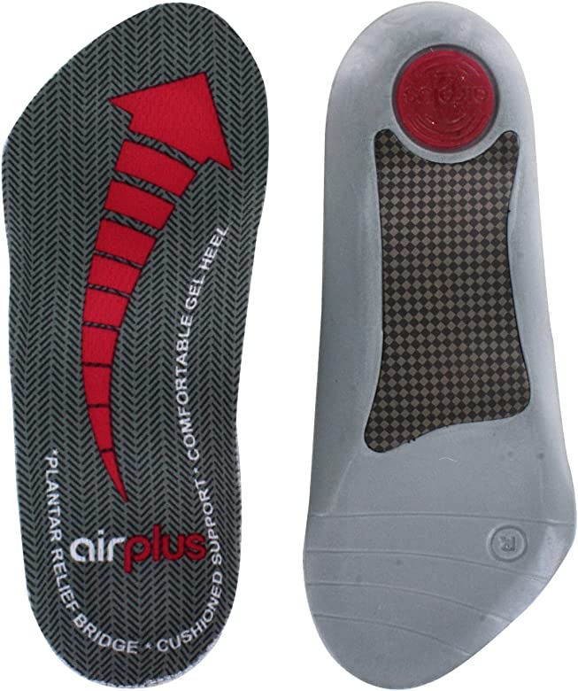 abd1cb31ae Airplus Plantar Fasciitis Orthotic Shoe Insole for Extra Cushioning and  Pain Relief, Women's, Size