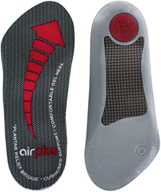 Airplus Plantar Fasciitis Orthotic Shoe Insole for Extra Cushioning and Pain Relief