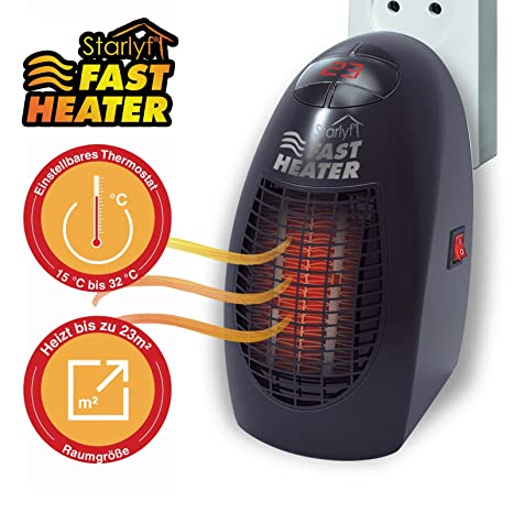 Stufa Stufetta Elettrica Handy Portatile Starlyf Fast Heater Amazon