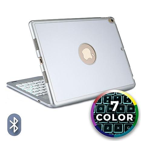 Funda con Teclado para Apple iPad Pro 10.5, Cooper NOTEKEE F86 Carcasa con Teclado inalámbrico