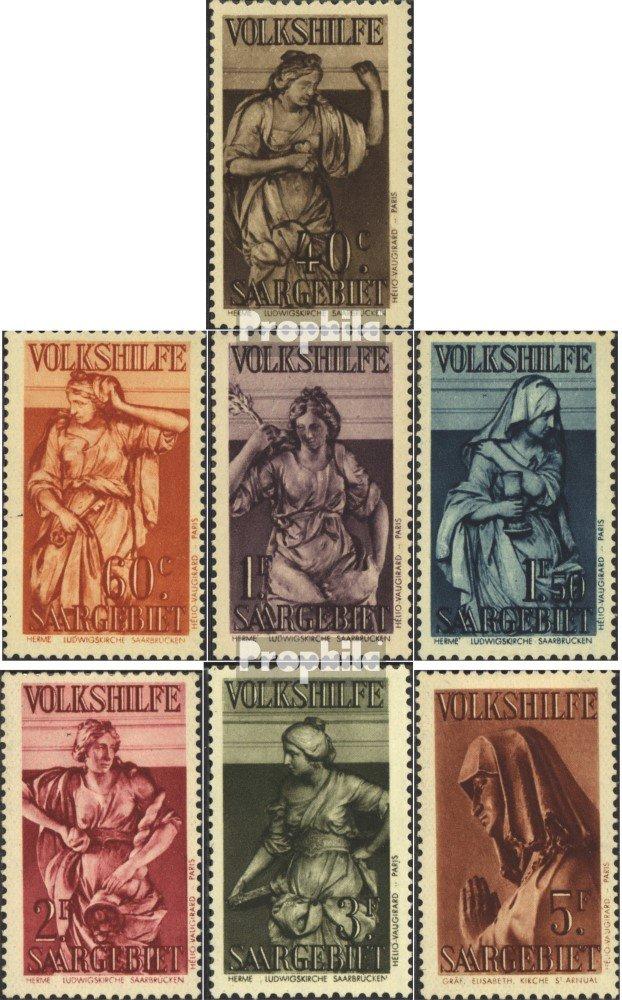 El nuevo outlet de marcas online. Prophila Collection SAAR 171-177 (Completa.edición.) (Completa.edición.) (Completa.edición.) 1934 Volkshilfe (Sellos para los coleccionistas)  deportes calientes