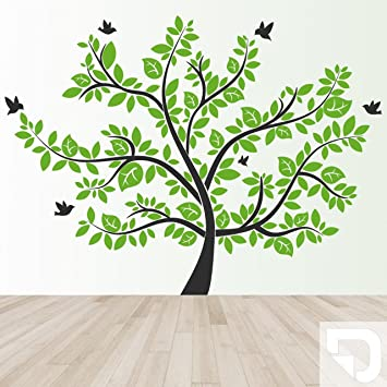 Designscape Xxl Wandtattoo Baum Wandtattoo Lebensbaum 271 X 200