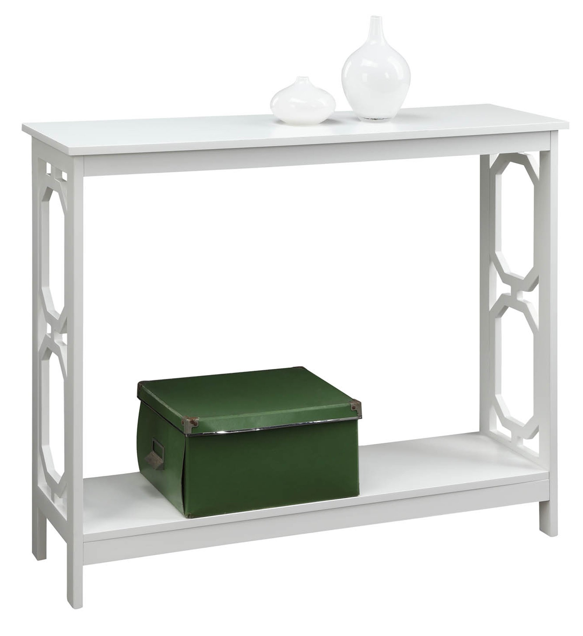 Convenience Concepts Omega Console Table, White by Convenience Concepts (Image #2)