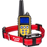 Ningyi683 Waterproof Electric Dog Shock Collar With Remote Control For Large 880 Yard Pet Training