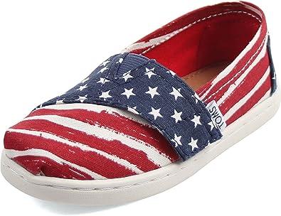 b51f703eb67fd Amazon.com | TOMS Kids' 10009949 Alpargata - K | Loafers
