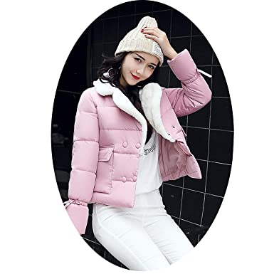 0b1a175c885 Amazon.com  Gooding life Woman Winter Jacket Coat Cotton Padded ...
