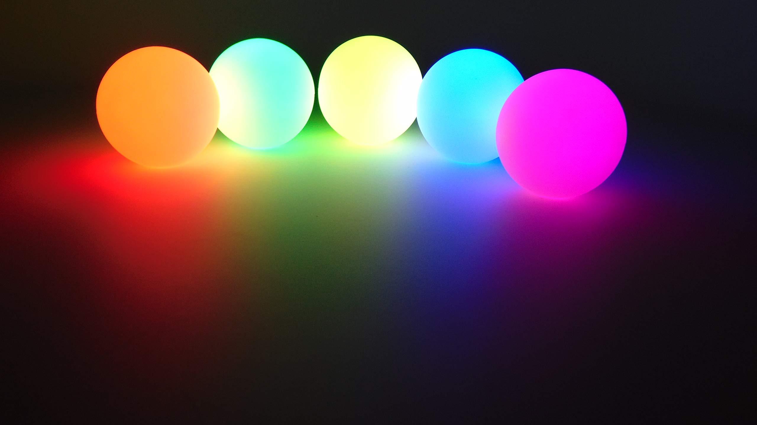 Higgins Brothers Luster LED Light-Up Juggling Balls (Multi-Color Strobe) by Higgins Brothers (Image #7)