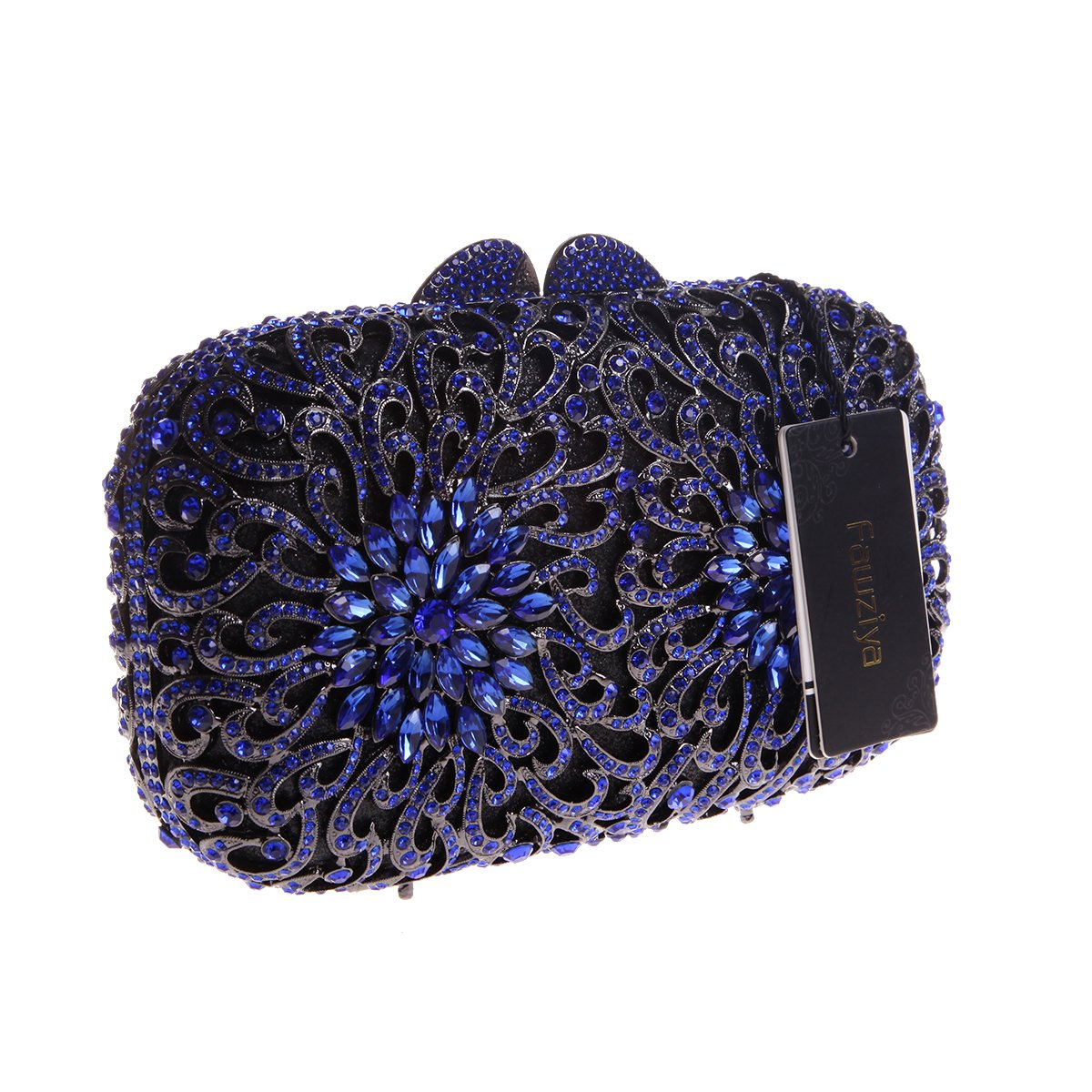 Amazon.com  Fawziya Chrysanthemum Clutches Purses Wholesale Handbags For  Women-Blue  Shoes 298687bcdd56d