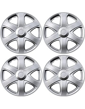 amazon hubcaps hubcaps trim rings hub accessories Chevy S10 Hubcaps oxgord hub caps for 03 14 toyota matrix pack of 4 wheel
