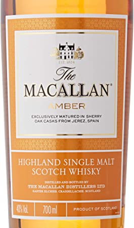 Macallan Fine Oak - Macallan Amber 40%  - 700 ml