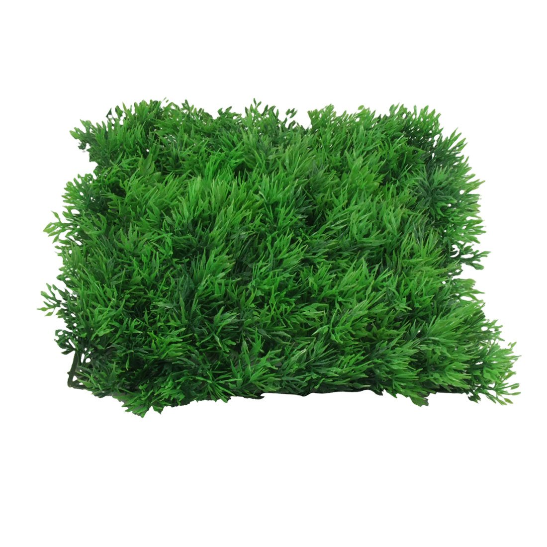 uxcell 10 x 10 Green Square Artificial Grass Lawn for Fish Tank Jardin