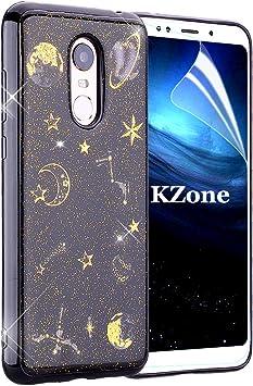 OKZone Funda Xiaomi Redmi 5 Plus, [Serie Noche Estrellada] Cárcasa ...