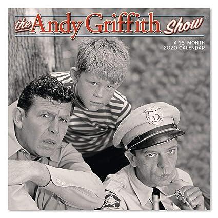 Show 2020 Calendar Amazon.: 2020 The Andy Griffith Show Wall Calendar (DDD3712820