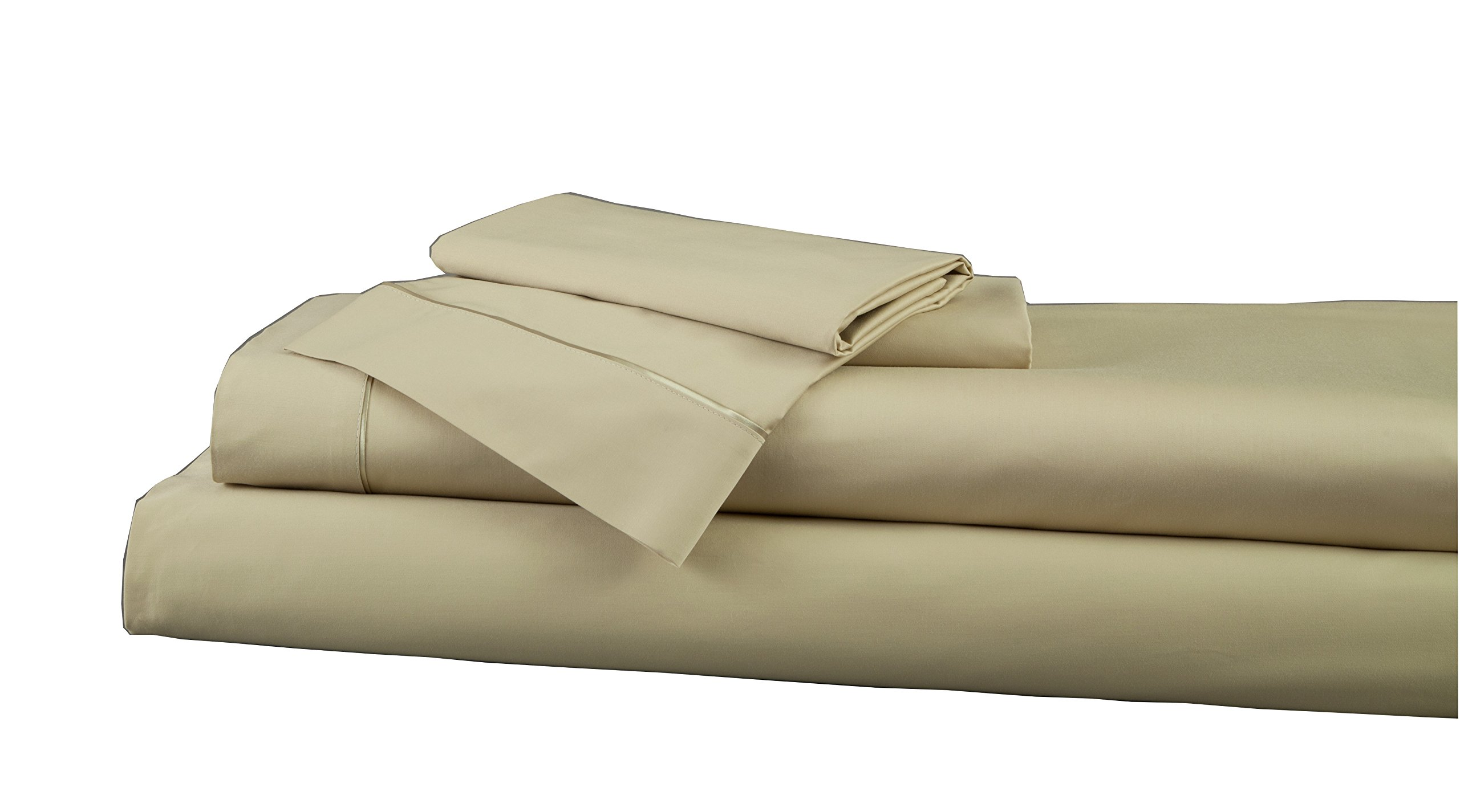 DreamFit Bamboo Rayon and Cotton Sheet Set - Queen - Pale Sage - 3030002 52 4Q by DreamFit
