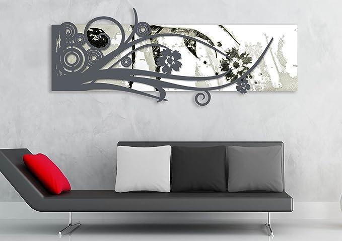 Las laser art style quadro moderno legno mdf bianco