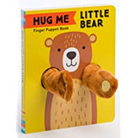 Hug Me Little Bear: Finger Puppet Book: (Baby's First Book, Animal Books for Toddlers, Interactive Books for Toddlers)