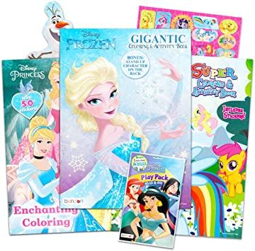 Official Disney Frozen Super Stationery 16 Pieces Set Fast Deliver Age 3+