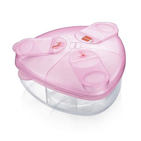 MAM Babyartikel 99043422 - Caja para leche en polvo, color rosa