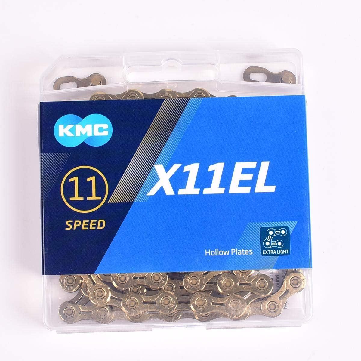 KMC 11s chain X11-93//EL//SL //Silver Gold 11 Speed Road Bike Chain MTB Bike Chain