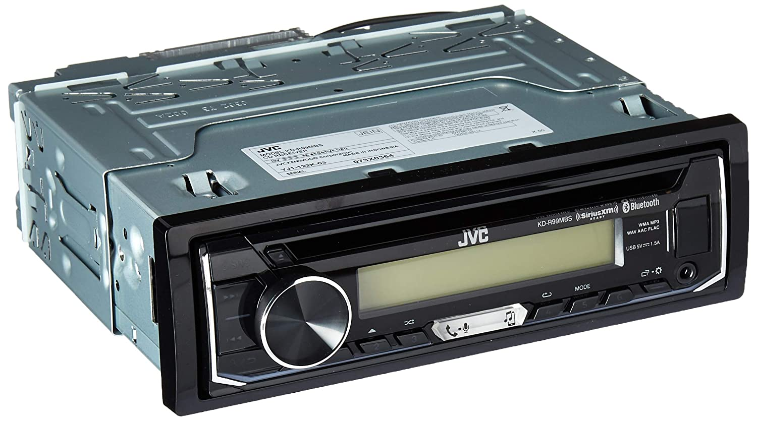 Amazon.com: JVC KD-R99MBS Marine Motorsports iPod & Android CD Receiver  with Bluetooth: Cell Phones & Accessories