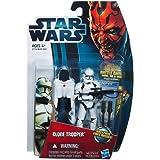 Hasbro Star Wars 2012 Movie Heroes Basic Figure Clone Trooper / Star Wars 2012 Movie Heroes Action Figure MH11 Clone Trooper [parallel import] (japan import)