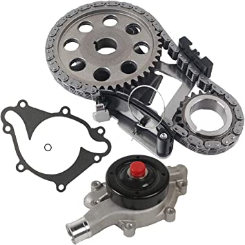 Compatible with 1994-2003 Dodge Ram 1500 Timing Chain Kit with Chain and Sprockets