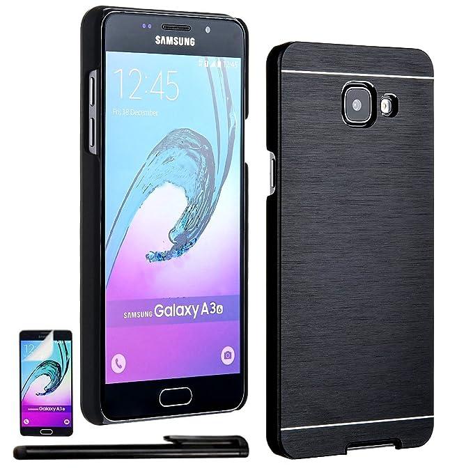 Samsung Galaxy A3 Hulle Alu Handyhulle Amazon De Elektronik