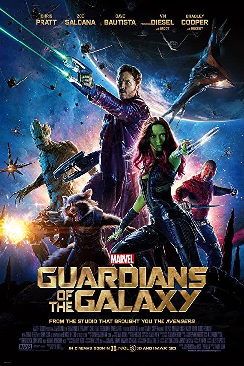 "Amazon.com: Guardians of the Galaxy (2014) Movie Poster 11""x17 ..."