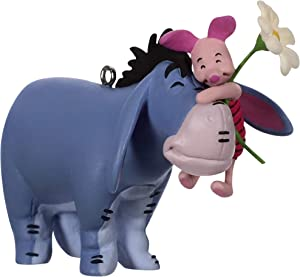 Hallmark Keepsake Christmas Ornament 2019 Year Dated Disney Winnie The Pooh A Hundred Acre Hug Eeyore and Piglet