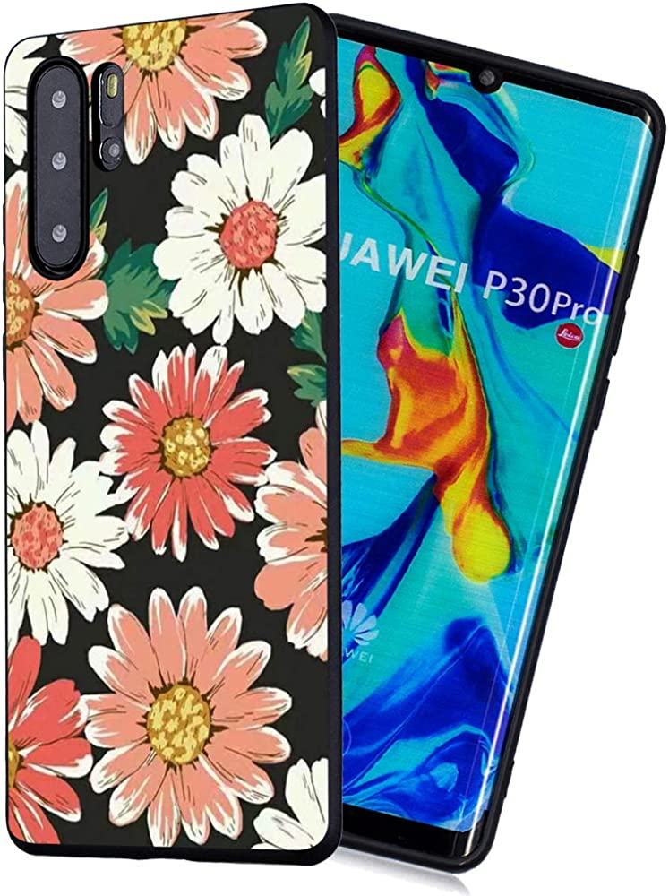 6City8Ni Colorful Transparent Glitter Silicone Compatible with Huawei P30 Pro