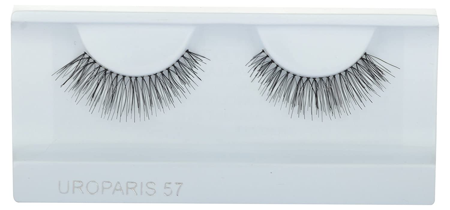 7189e6e7b50 Buy UROPARIS False Eyelashes for Women, 57, Black Online at Low Prices in  India - Amazon.in