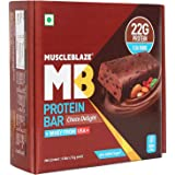 Muscle Blaze Protein Bar, 22g Protein (Pack of 6) (Chocolate Delight)