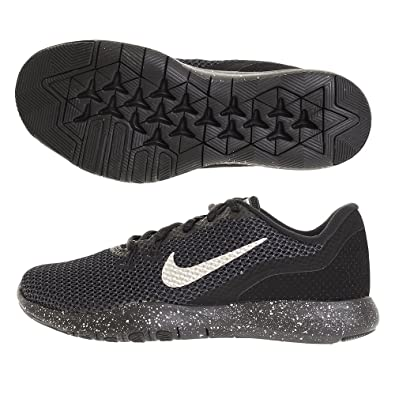 713553ed1d2d2 Nike Women's Flex TR 7 Premium Training Shoe Black/Chrome/Anthracite Size  7.5 M US