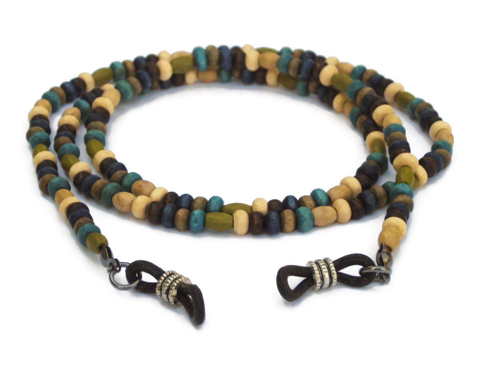 Eyeglass Chain, Beaded Holder for Reading Glasses, Sunglasses and Eyeglasses by Silk Rose