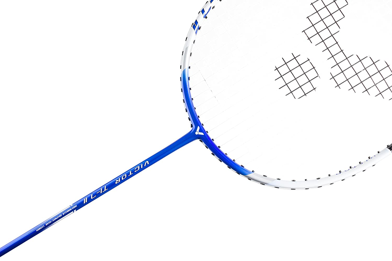 cdf15c2bbae Victor Ti 7 Graphite Badminton Racquet - Blue White - 88g  Amazon.co.uk   Sports   Outdoors