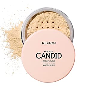 Revlon Photoready candid anti-pollution setting powder, paraben free, 0.144 Ounce