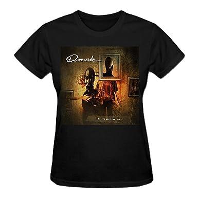 Riverside Second Life Syndrome T Shirts Women: Amazon co uk