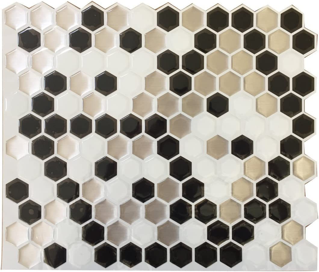 - Amazon.com: Fancy-fix TS023 Vinyl Peel And Stick Stickers Decorative Backsplash  Kitchen Tile: Home & Kitchen