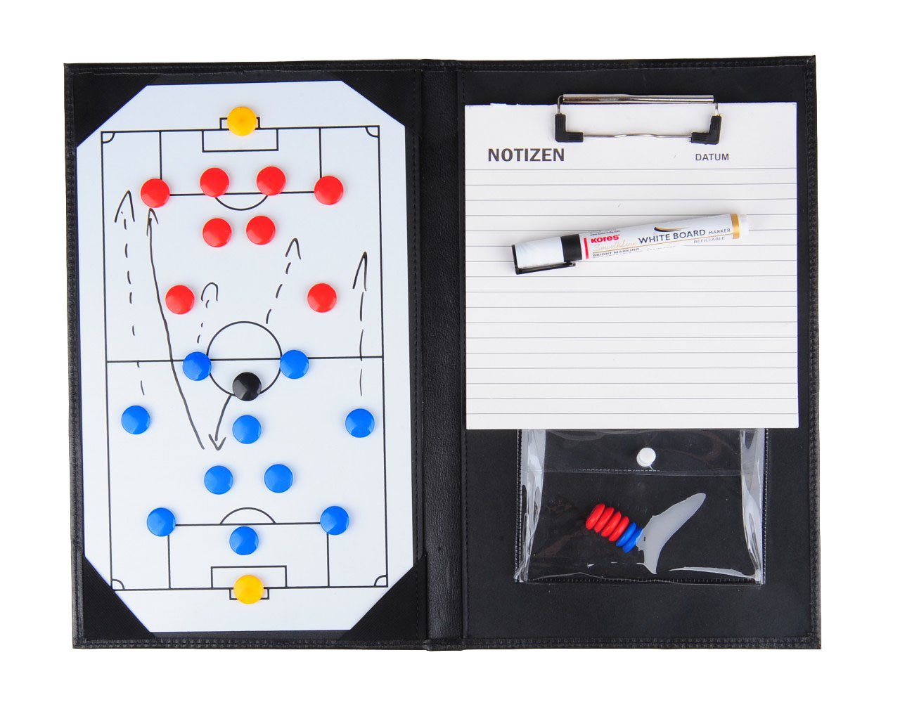Handy Magnetic Tactics Folder//Coach Briefcase 36x23cm with Accessories